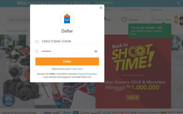 Pengalaman Pertama Belanja Di Blibli.com - Toko Online Indonesia