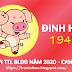 TỬ VI TUỔI ĐINH HợI 1947 NĂM 2020 ( Canh Tý )