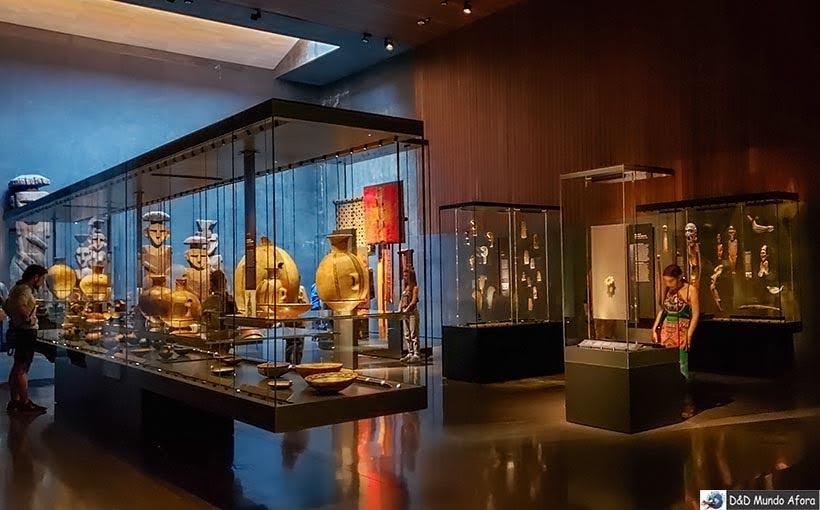 Acervo do Museu Chileno de Arte Pré-colombiana em Santiago