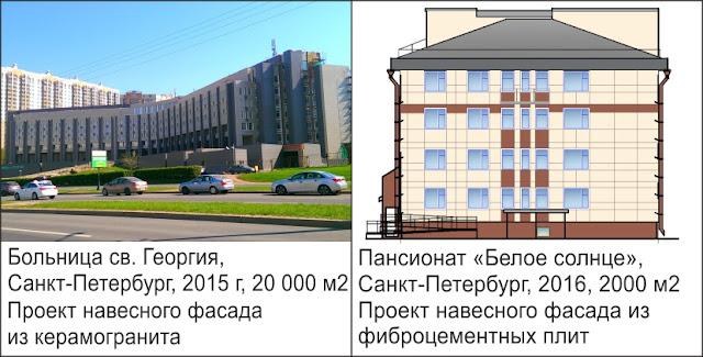 Проектирование вентфасадов СПб, программа расчета вентилируемых фасадов