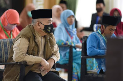 Gubernur akan Berikan Hadiah Tiket Umrah kepada Qari/Qariah Berprestasi di MTQ ke-37 Provsu