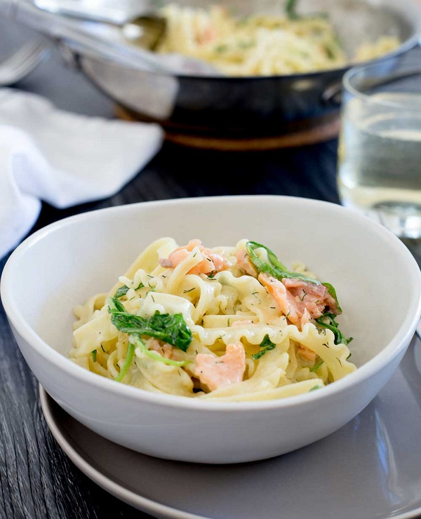 5-Ingredient Smoked Salmon Pasta