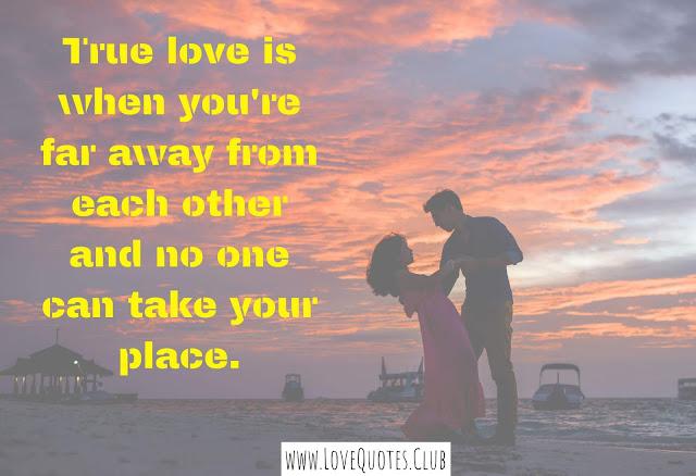 A true love quotes