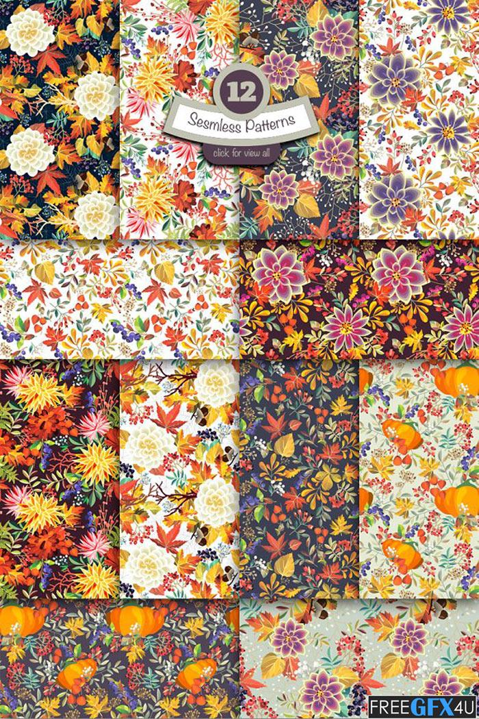 Autumn Patterns Pack