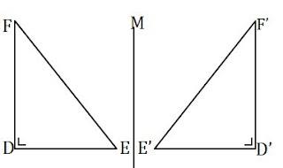 Pencerminan pada segitiga siku-siku