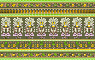 Traditional-illustration-indian-motif-textile-border-210047
