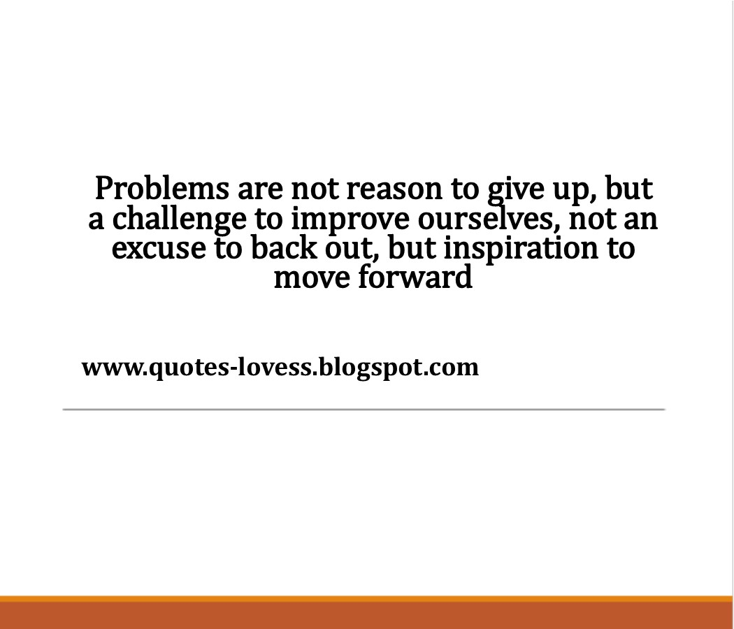 Tagalog Hugot Love Quotes - Problems are not reason to give ...