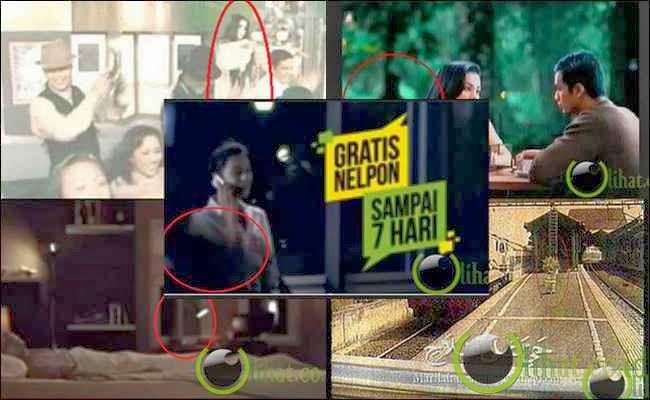 6 Penampakan Hantu Seram di Iklan Televisi Indonesia