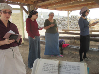 Rosh Chodesh Women's Prayers at Tel Shiloh