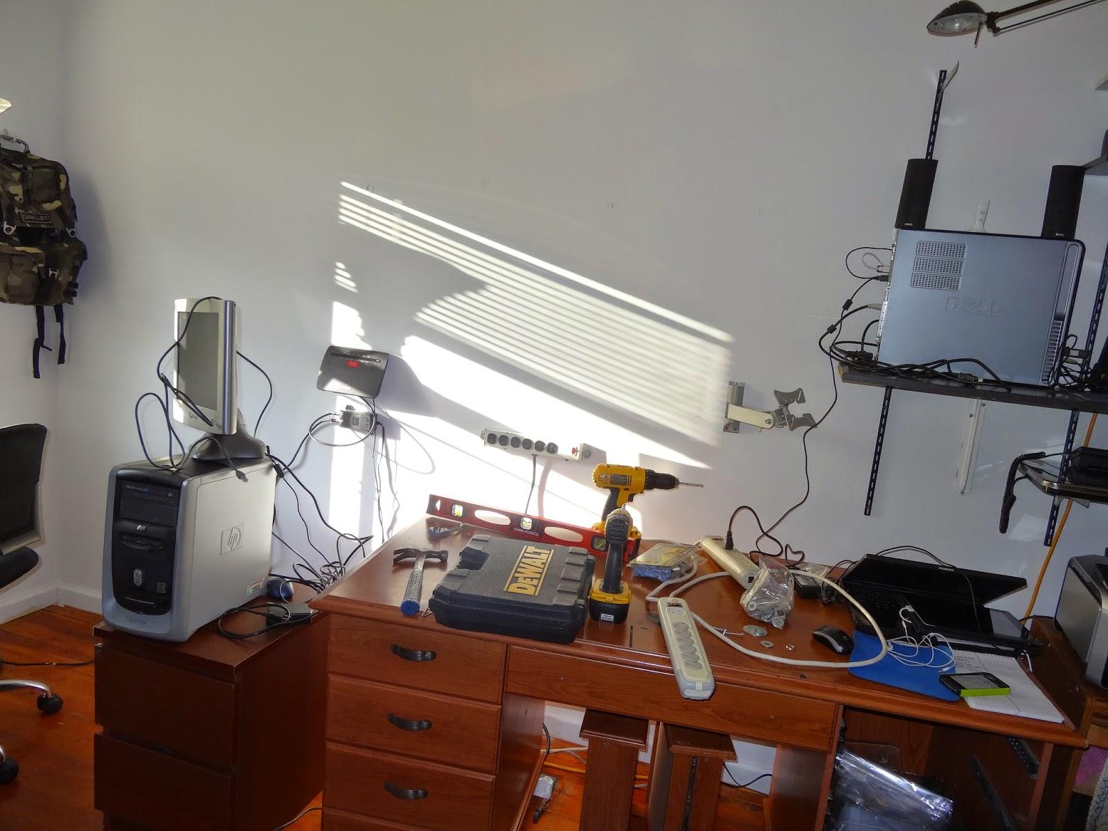 Checking Reality: eBay Office Setup + Packing Area + Photo