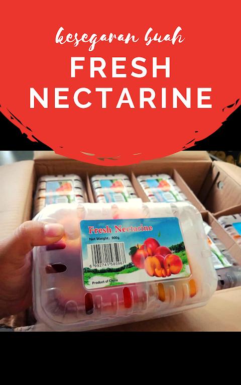 Fresh Nectarine, Kesegaran, Kelezatan, dan Keunikan Rasa Buah Berpadu