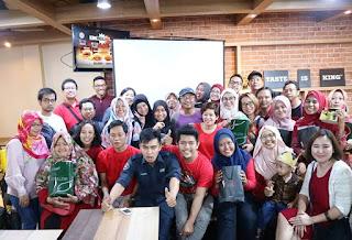 Komunitas Indonesia Social Blogpreneur mengadakan Blogger Gathering 2018