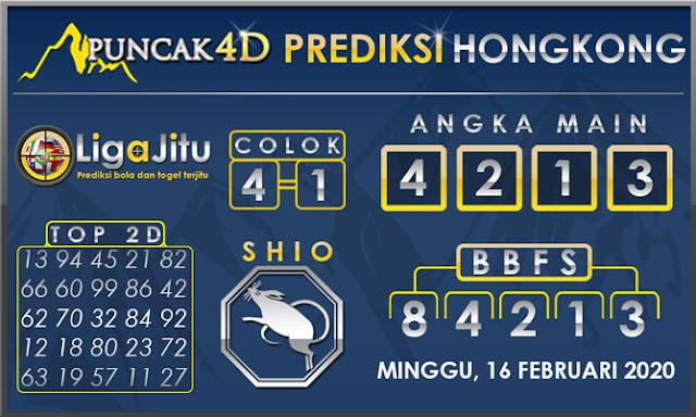 PREDIKSI TOGEL HONGKONG PUNCAK4D 16 FEBRUARI 2020