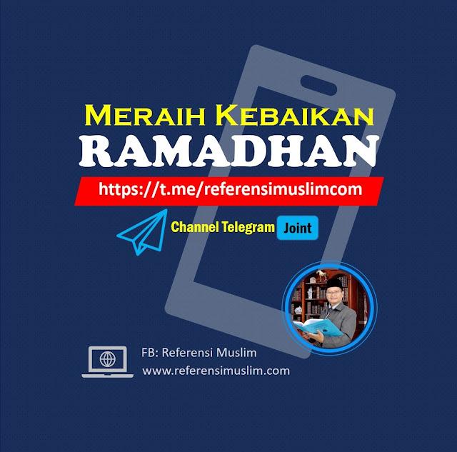 Channel Khusus Telegram Meraih Kebaikan Ramadhan di Tengah Wabah Corona!!