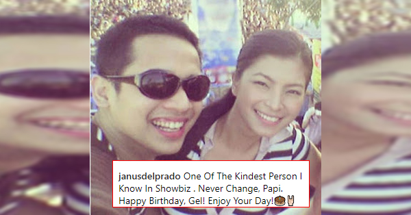 Janus Del Prado Tagged Angel Locsin As the Kindest Person He Knows In Showbiz