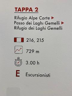 Second leg of Sentiero delle Orobie - Tito Terzi Exhibit