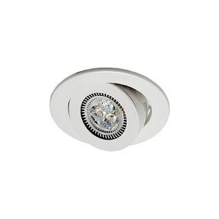 6W 3吋 MR16 LED投射崁燈 9cm嵌入孔,燈頭可調整角度