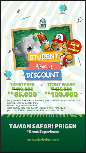 Indonesian Travel Blogger Promo Tiket Masuk Ke Taman Safari Prigen
