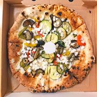 vegan pizza Bella Napoli vegetables