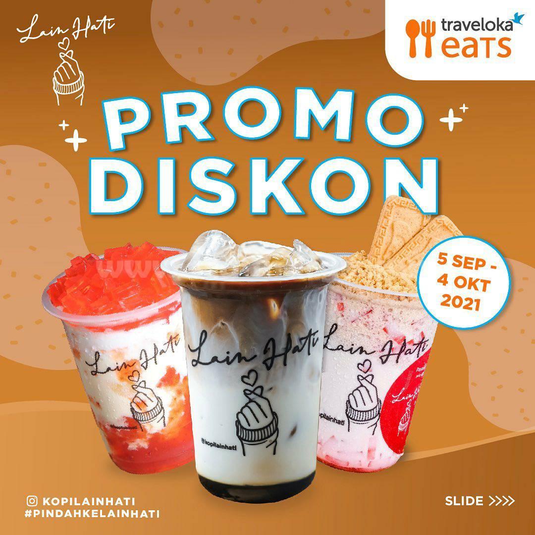 Kopi Lain Hati Promo Diskon 50% via Traveloka Eats
