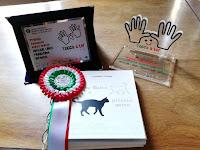 Libro tattile braille Grande Gatto e piccolo gatto