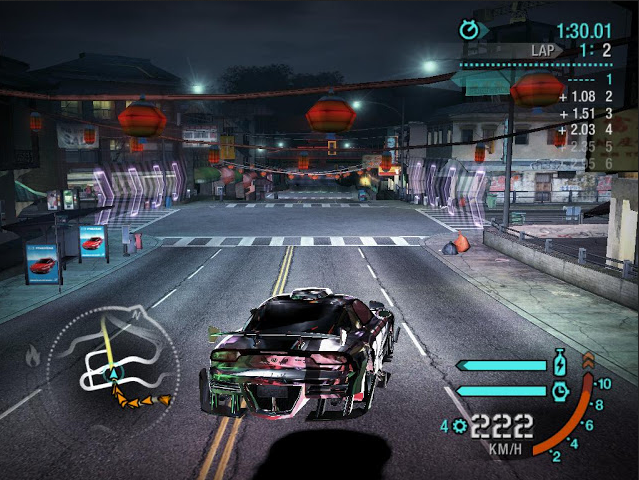Download Game Need for Speed Carbon Single Link