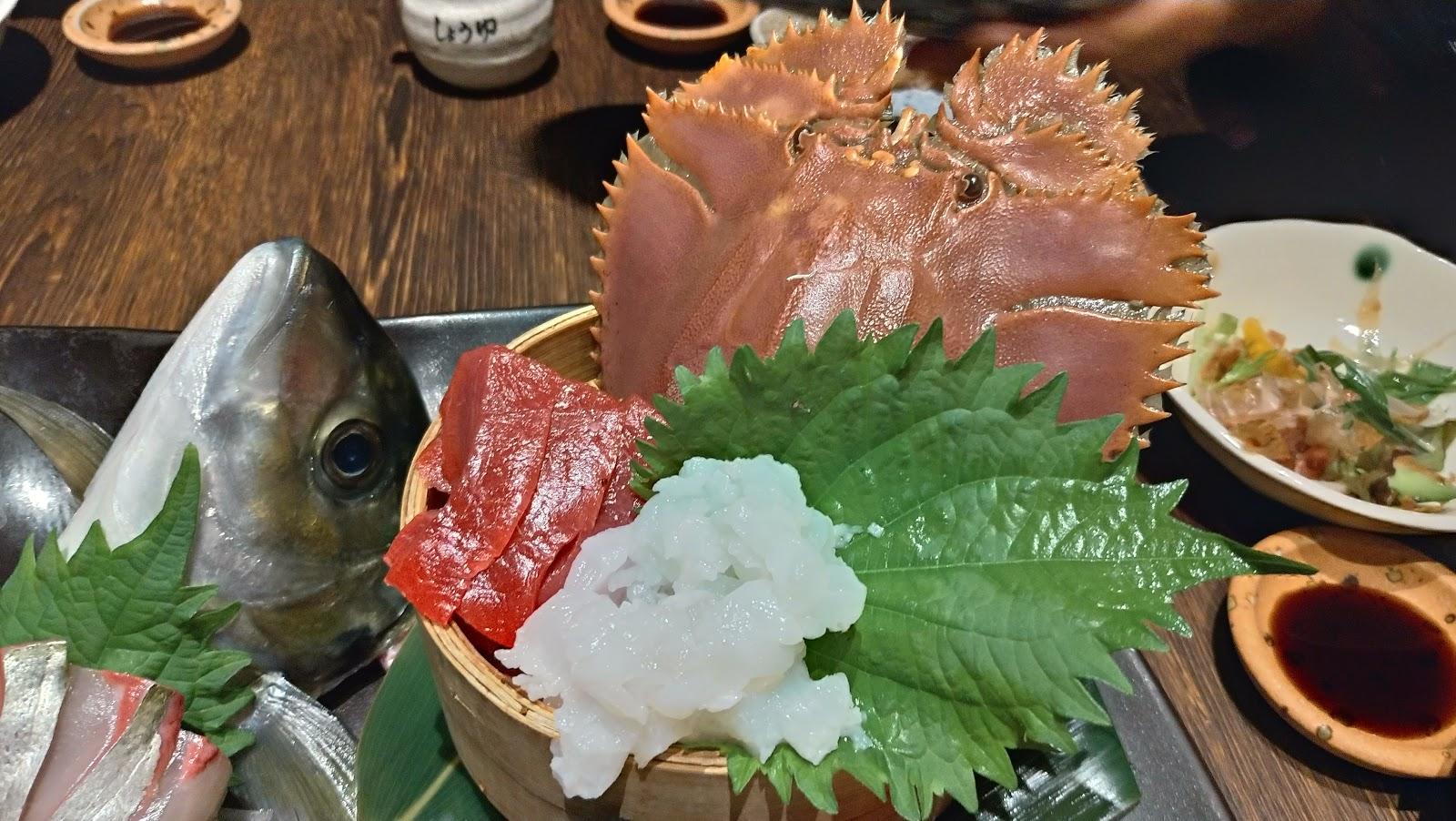 うちわ海老 長崎市居酒屋の魚店亜紗 (うおだなあさ)がスーパーおすすめ!