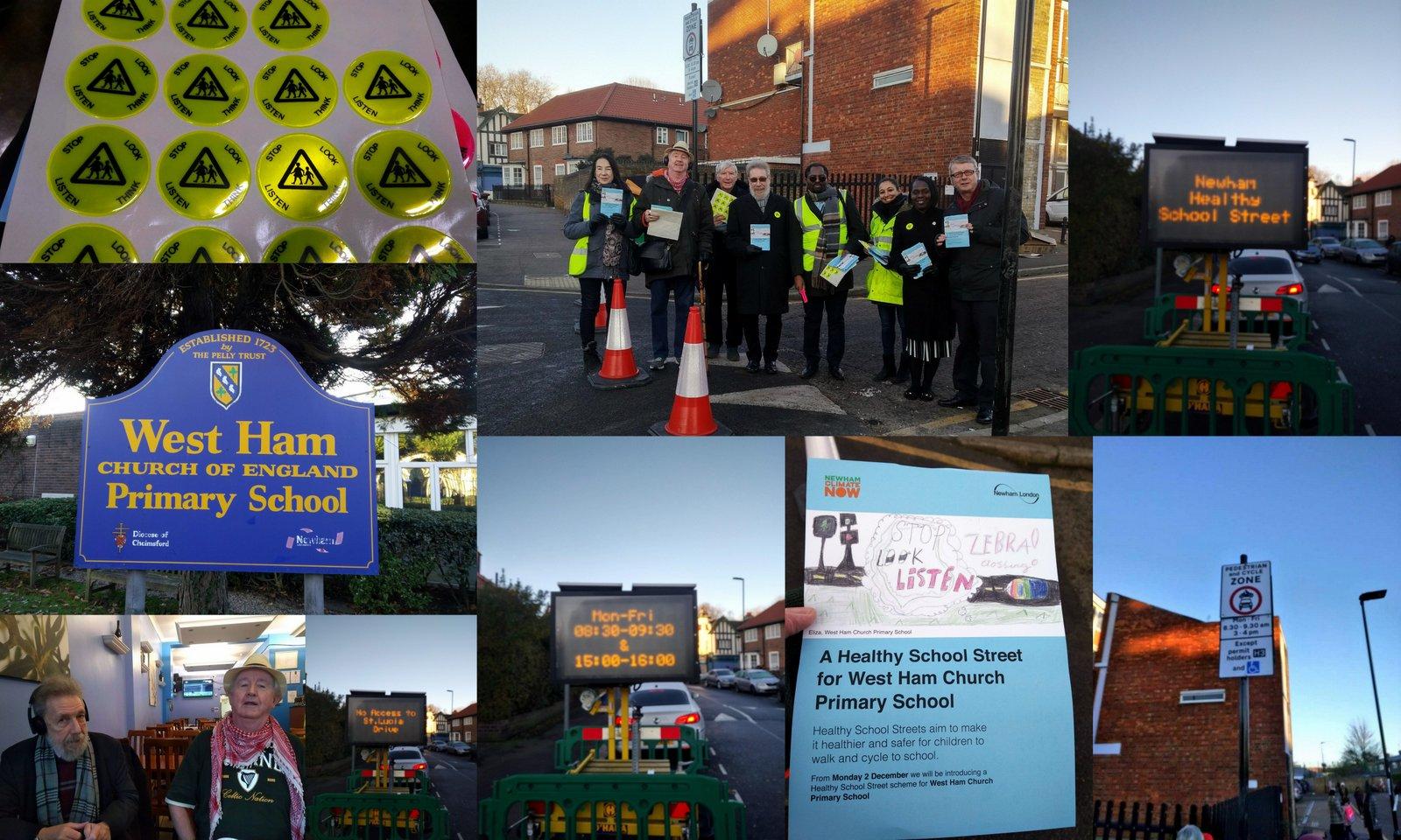 Johns Labour Blog A Healthy School Street For West Ham