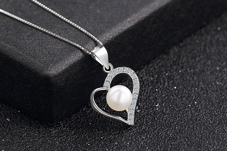 真情淡水珍珠 925純銀項鍊