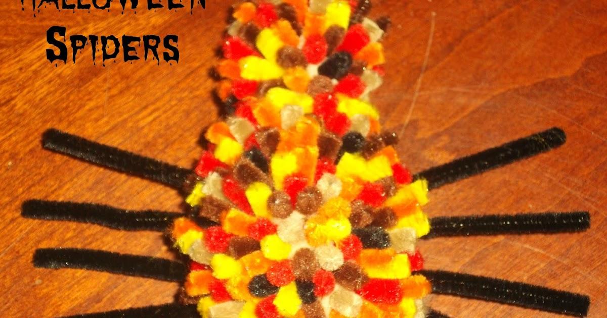 Preschool Crafts for Kids*: Cute Halloween Pipe Cleaner ...
