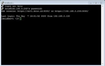 cara, setting, SSH, di, centos 8, server