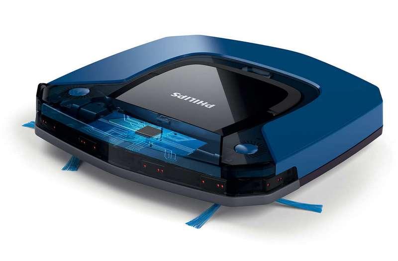 PHILIPS FC879201 SmartPro Easy Robot Vacuum Cleaner (blibli.com)