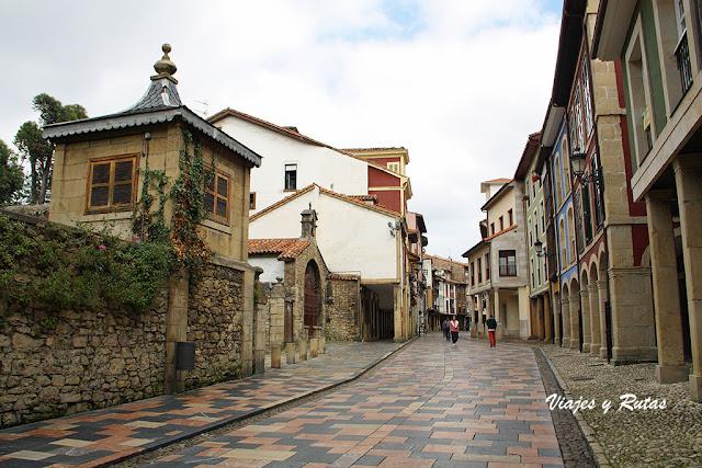Calle Rivero de Avilés