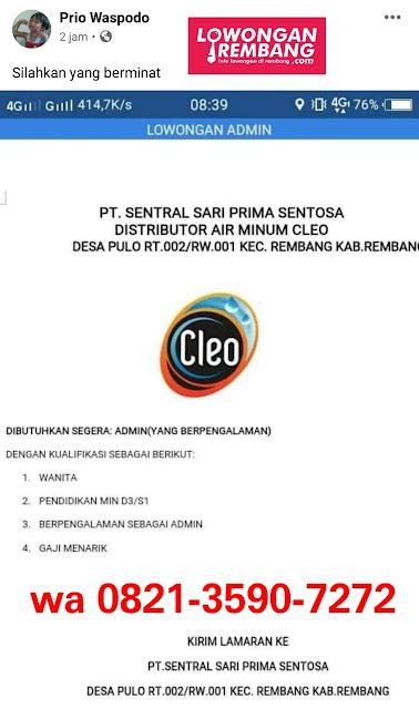 lowongan-kerja-distributor-cleo-rembang