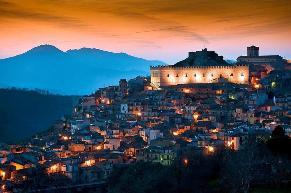 Montalbano Elicona Castle Sicily