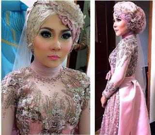 Hijab Untuk Kebaya Pernikahan Masa Kini