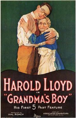 Póster película El mimado de la abuelita - Harold Lloyd