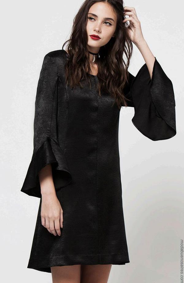 Moda invierno 2017  vestidos de moda mujer invierno 2017 ropa.