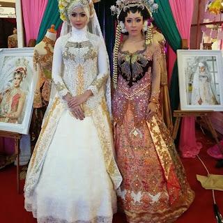 Model Gaun Kebaya Muslim Modern Full Payet