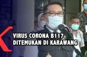 Ridwan Kamil: Virus Corona B117 Ditemukan di Karawang!