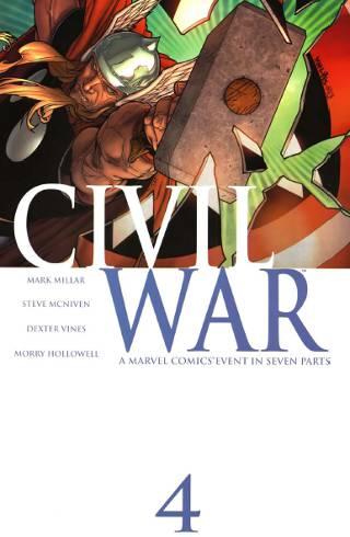 Marvel Civil War #4 PDF