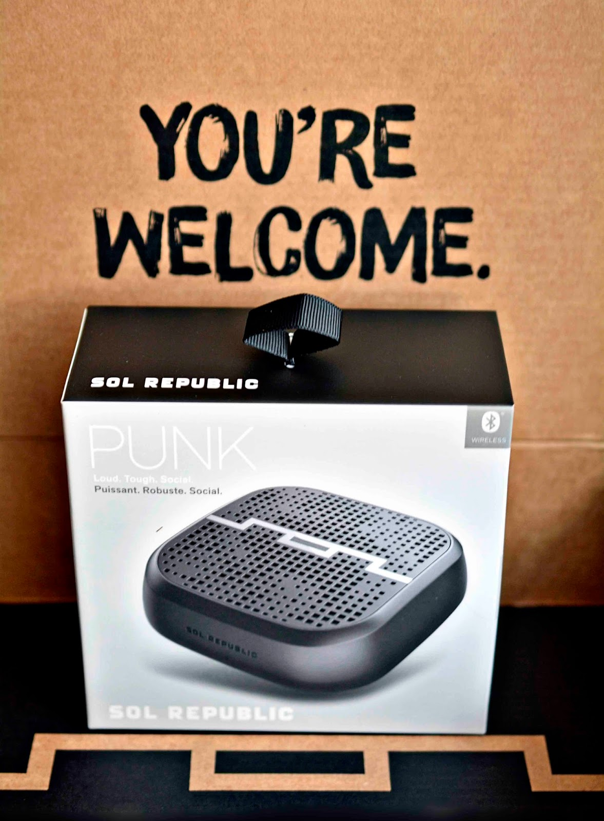SOL REPUBLIC PUNK WIRELESS SPEAKER