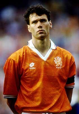 Football Players Marco Van Basten