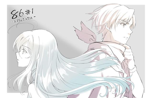 Anime 86 Eighty-Six ilustración 2