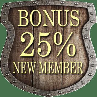 MomoPoker bonus new member 25%