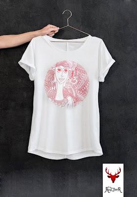 T-shirt z doodle, czyli naprasowanki z własnej drukarki