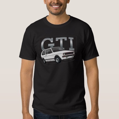 Vdub Golf GTI MK1 t-shrit