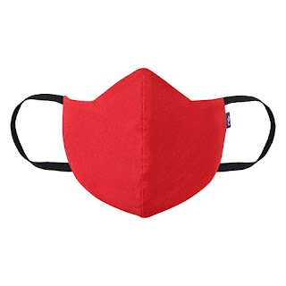 Craft Darbar 3-Layer Washable and Reusable Unisex Cotton Face Mask