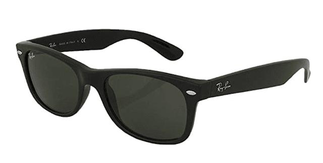 black travel sunglasses