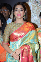 Shriya Saran Looks Stunning in Silk Saree at VRK Silk Showroom Launch Secundrabad ~  Exclusive 054.JPG